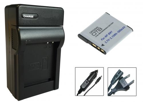 AKKU LADEGERÄT für SONY Cybershot DSC-W610 DSC-W630 DSC-W620