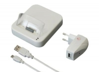 Dockingstation Apple iPhone, iPod Touch 2G, 3G,3GS - WEISS